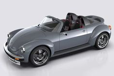 Memminger Roadster Is A Modern Take On The Classic VW Beetle. This custom VW Beetle-inspired beauty could even go into production if there's enough demand. Porsche 914, Palio Weekend Adventure, Carros Vw, Vw Cabrio, Kombi Motorhome, Automobile, Beetle Convertible, Ferdinand Porsche, Roadster