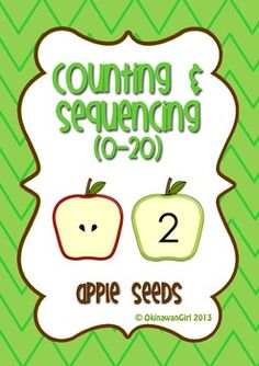 FREEBIE!  Counting and sequencing numbers to 20.
