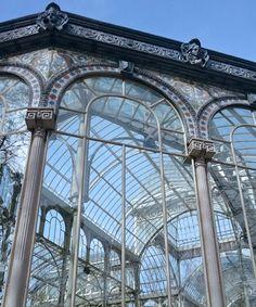 Romantisch - der Kristallpalast im Retiro Park. Madrid, Park, Glass House, Viajes, Tips, Parks