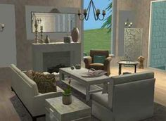 1000 images about sims on pinterest sims 3 sims3 house for Living room ideas sims 3