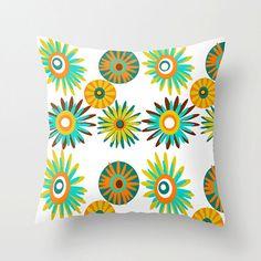 Mid Century Modern Throw PillowFun Pillow Mod by crashpaddesigns, $58.00