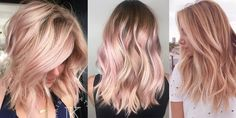 22 ideas hair goals straight ombre for 2019 Blonde Hair With Highlights, Hair Color Balayage, Ombre Hair, Summer Highlights, Blonde Ombre, Hair Color Dark, Cool Hair Color, Hair Colors, Summer Hairstyles