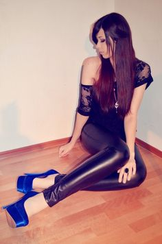 Leather leggings...!