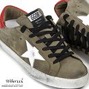 Today's Hot Pick :14FWGOLDEN GOOSEVintage Suede Low Top Sneakers(White Star)G25U590 R9 http://fashionstylep.com/SFSELFAA0007014/wiberluxen/out Open your eyes and see the beauty of these fashionable low top sneakers from Golden Goose. Vintage themed and made from suede with an olive toned exterior for a versatile and sleek look. Designed with a black laces, brand patched tongue, contrast red panel at the heel and their signature white star patch at the sides. Be confident with every stride…