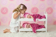 Newborn Babies Twins Photography Prop Posing Bunk Bed Mattresses and Ladder DIY Whimsical Photo Prop for Baby Pictures Baby Shower Gift by Acraftersnook on Etsy https://www.etsy.com/listing/150725681/newborn-babies-twins-photography-prop