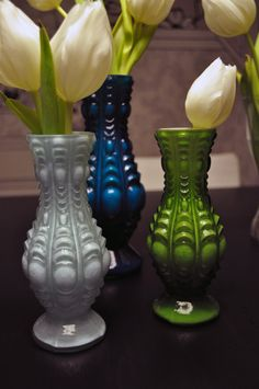 Glassvases from Rice old style in colourful design www.inreda.com Vases, Rice, Flowers, Color, Design, Home Decor, Style, Products, Swag