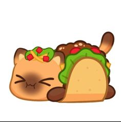 Introducing TACO CAT!  This new Meow~meow will be on my store STARTING TOMORROW! We only have a limited amount of them so get it while you can! 🎨Art by:Lily S. Aphmau Merch, Aphmau Wallpaper, Aphmau Pictures, Disney World Castle, Aphmau Characters, Aphmau And Aaron, Aphmau Fan Art, Taco Cat, Cute Hamsters