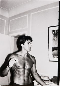 Sylvester Stallone by Andy Warhol, 1975