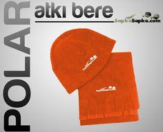 Turuncu Polar Atkı Bere  http://www.sapkasapka.com/promosyon-polar-atki-bere-fiyat/