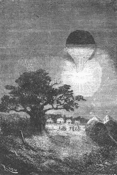 The Illustrated Jules Verne Cinq semaines en ballon (1862) 77 illustrations by Édouard Riou and Henri de Montaut