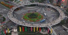VIRAL PE NET. Pasaje pietonale în CHINA