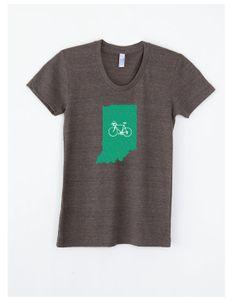 BIKE OREGON SHIRT Women's Bike T Shirt by RunnerduckPrints on Etsy
