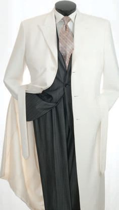 Vittorio St. Angelo Men's Full 54 Inch Length Maxi Coat - Clothing Connection Online