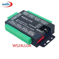 ==> [Free Shipping] Buy Best LED Easy 24CH dmx512 DMX decoderLED dimmer Controller DC5V-24Veach CH Max 3A8 groups RGB controller Iron case Online with LOWEST Price   32694508871