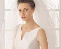 Cathedral Veil  Fingertip Wedding Veil Bridal Veil Ivory Off