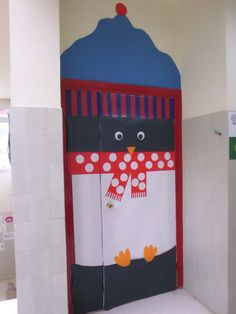 Nuestra puerta pingüino