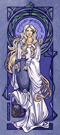 Galadriel in The Lord of the Rings.