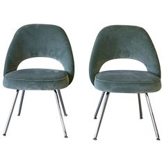 Pair Of Saarinen Side Chairs, Knoll | From A Unique Collection Of Antique  And Modern Chairs At Https://www.1stdibs.com/furniture/seating/chairs/