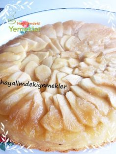 Kolay Elmalı Pasta Yummy Cakes, Apple Pie, Camembert Cheese, Food And Drink, Meals, Cookies, Baking, Desserts, Recipes