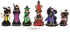 Image in osomatsu-san collection by ARMY on We Heart It Chess Time, Osomatsu San Doujinshi, Dark Anime Guys, Gekkan Shoujo Nozaki Kun, Pandora Hearts, Ichimatsu, Anime Couples Manga, Pretty Cure, Video Game Art