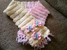 flutterby scarf