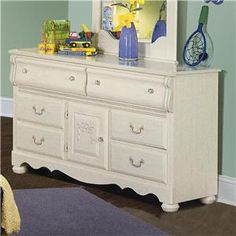 Standard Furniture Diana 1 Drawer Dresser - Knight Furniture - Dresser Sherman, Gainesville, Texoma Texas