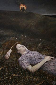 Night Hill ~ Andrea Kowch