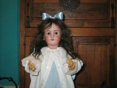"32"" Simon & Halbig, Heinrich handwerek flirty eye antique doll. a lovely lady to be sure. Photo ebay"