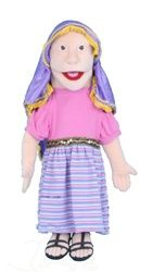 "28"" Mary Magdalene Bible Puppet"