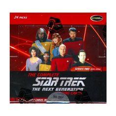 Star Trek the Next Generation Trading Cards Series Two Booster Pack @ niftywarehouse.com #NiftyWarehouse #StarTrek #Trekkie #Geek #Nerd #Products