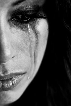 z- Woman- Expression, I (Tears) Photo Triste, Portraits, Dark Art, Close Up, Crying, Art Photography, It Hurts, In This Moment, Black And White