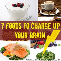 7 Foods To Boost Up Your Brain Power. - Liking the 3-5 cups of coffee recommendation!!!