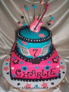 Girls birthday cake! For Morgi next year?