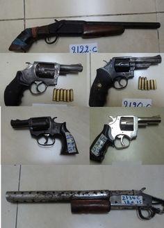 En operativos contra la delincuencia la policía saca de circulación 6 armas de fuego