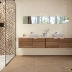 Eternety cubbs decor Tortora 20x50 falburkoló | Akció - Csempebolt Vanity, Bathroom, Decor, Dressing Tables, Washroom, Powder Room, Decoration, Vanity Set, Full Bath