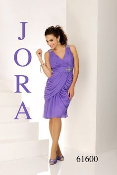 Vestido de madrina fiesta Jora 61600