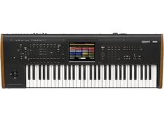 Korg's Kronos brings you the unrivaled nine-engine structure from previous versions, with numerous improvements to both sound capability and overall functionality. Truly, the most powerful synthesizer on the planet just got more powerful. Click to learn more.