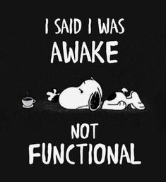 my sleep lasts all day 😂😂😂 Source by sabrinatranslations Snoopy Images, Snoopy Pictures, Funny Pictures, Peanuts Quotes, Snoopy Quotes, Cute Quotes, Funny Quotes, Funny Memes, Charlie Brown Quotes