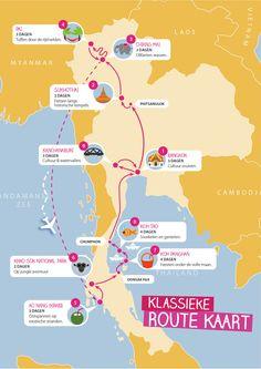 Maak een onvergetelijke reis langs de hoogtepunten van Thailand. Dit ebook bevat een complete route waarmee je op de mooiste plekken komt. Check 't nu!