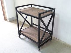 Beautiful inspo piece for a new project Welded Furniture, Loft Furniture, Iron Furniture, Steel Furniture, Shabby Chic Furniture, Industrial Furniture, Custom Furniture, Table Furniture, Furniture Making