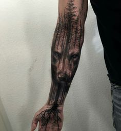 40 Masculine Wolf Tattoo Designs for Men - Tattoo ideen - Tatouage