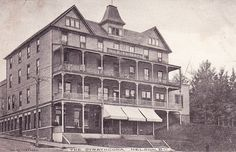 The Strathcona Hotel, Nelson, BC, c.1910s