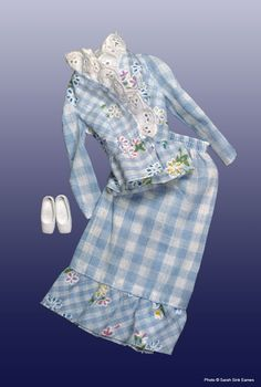 Blue Gingham #8621 | Barbie Collector