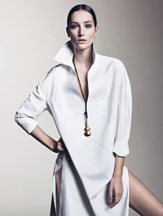 Josephine Le Tutour by Sharif Hamza for Vogue China May 2015