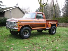 A Brief History Of Ford Trucks – Best Worst Car Insurance 4x4 Ford Ranger, Ford 4x4, Ford Bronco, 1979 Ford Truck, Ford Pickup Trucks, Mudding Trucks, Cool Trucks, Big Trucks, Lifted Trucks