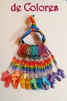 Cursillo Palanca pack of multi colored by SacredStrandsbyCarol