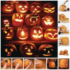 How to Carve a Pumpkin from Taste of Home
