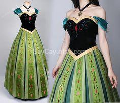 frozen anna Dress anna costume anna frozen Dress anna cosplay disney frozen clothing adult child anna dress children anna dress- a2