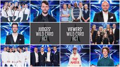 After five semi-finals we can finally reveal the line-up - minus the Wild Cards - for the Britain's Got Talent final. It's shaping up to be an extraordinary climax to a sensational series! Britain's Got Talent, Finals, Acting, Meet, Judges, Shit Happens, Sayings, Movie Posters, Cards
