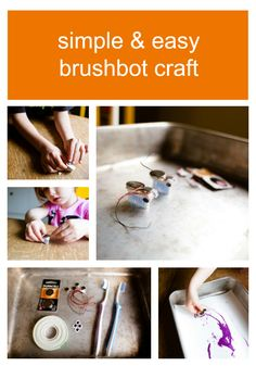 This special Sparkle Stories craft, a tiny toothbrush robot, would be perfect for a rainy summer day. Sparkle Stories, Sparkle Crafts, Summer Fun, Robot, Simple, Robots, Summer Fun List, Summer Activities